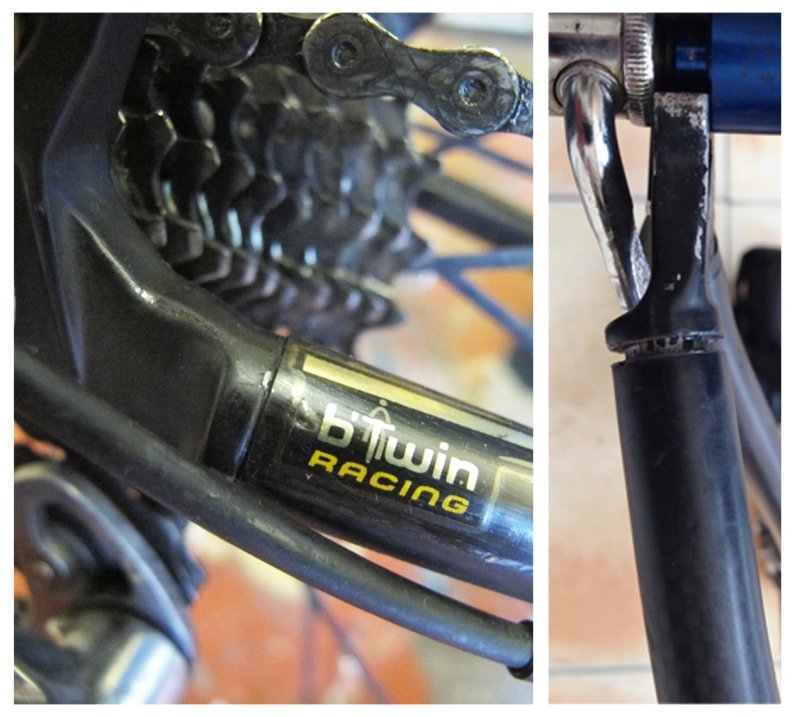 B-Twin carbon fiber bicycle repair