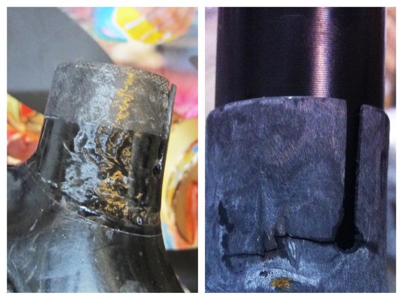Eddy Merkx carbon fiber bicycle repair