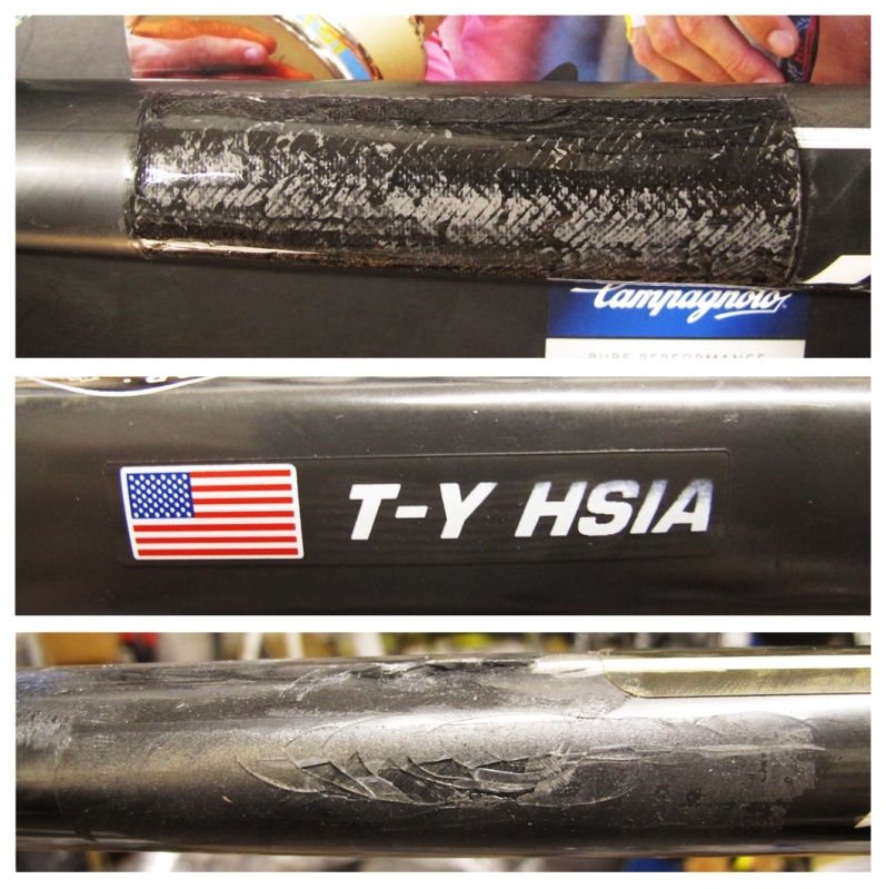Giant Proper carbon fiber bicycle repair