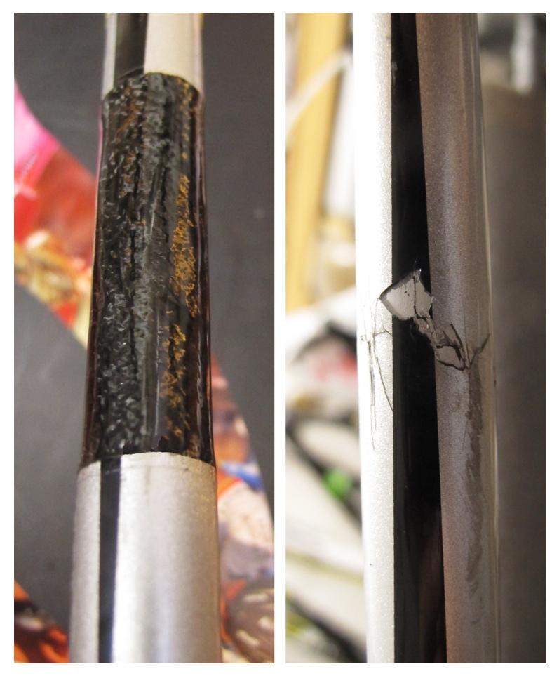S-Works Tarmac SL4 carbon fiber bicycle repair