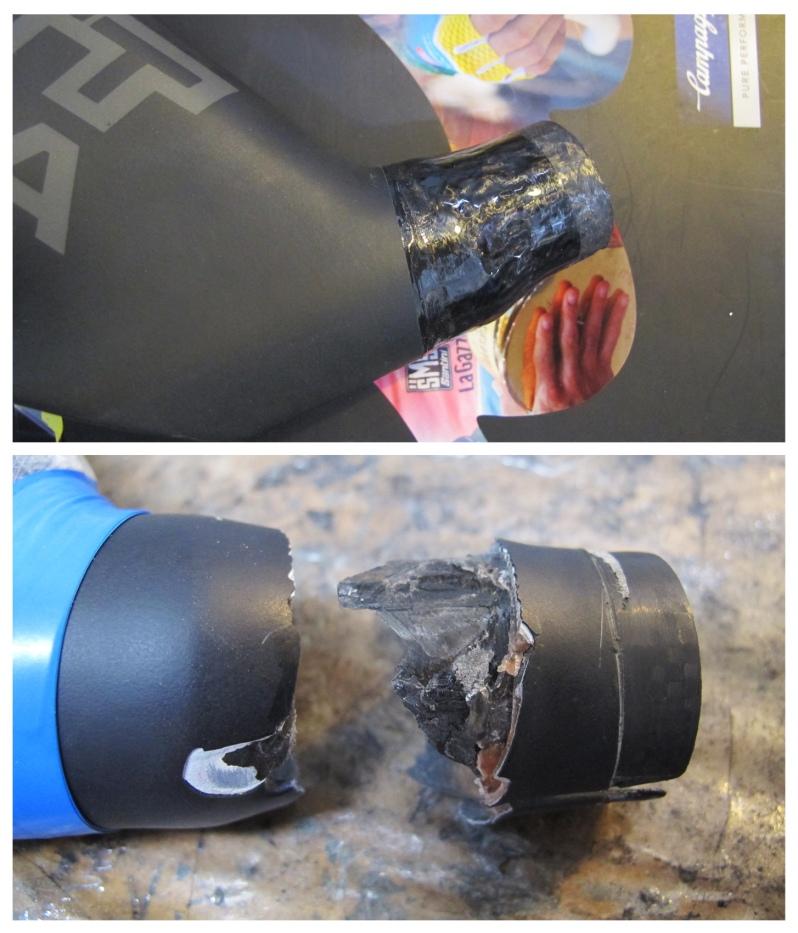 Scott carbon fiber bicycle repair